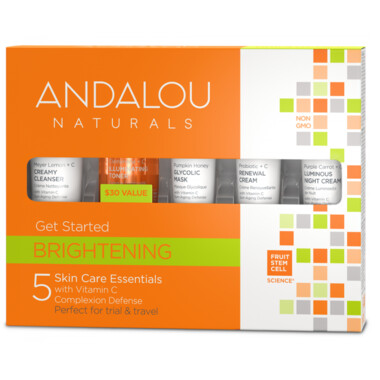 Andalou Naturals   Get Started Kit   Brightening