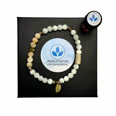 House Of Fortune | Single Aroma Bracelet | Shell