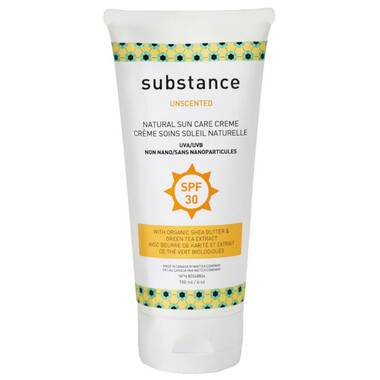 Substance | Sunscreen | Lotion | Unscented | SPF 30
