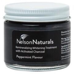Nelson Naturals | Remineralizing Treatment Powder | Mint Charcoal