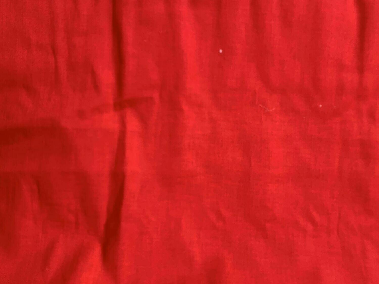 Red Solid- CUSTOM