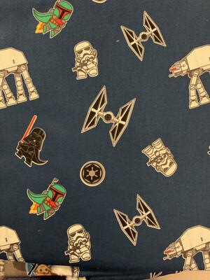 Star Wars Navy Boba Fett- CUSTOM