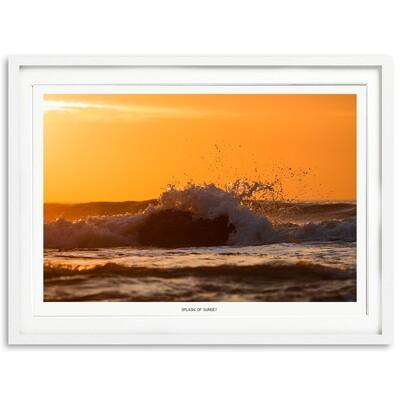 Splash Of Sunset