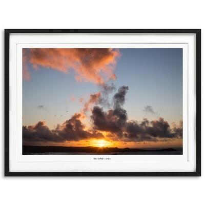 Big Sunset Skies