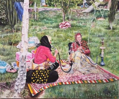 Picnic à Ispahan
