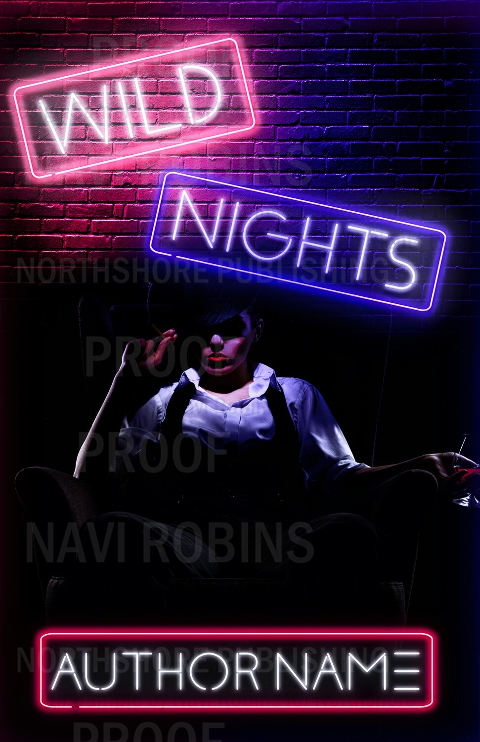 Wild Nights pre-made book cover (ebook only)