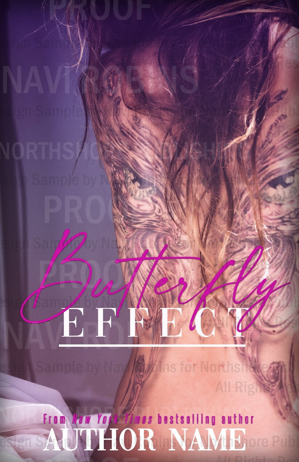 Butterfly Effect pre-made eBook cover (Paperback version available)