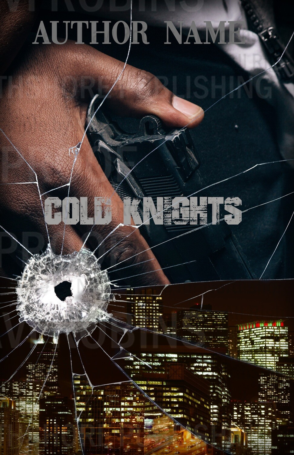 Cold Knights pre-made eBook cover (Paperback version available)