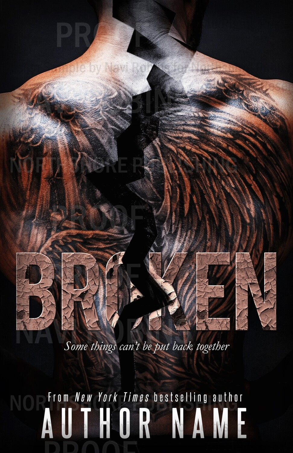 Broken pre-made eBook cover (Paperback version available)