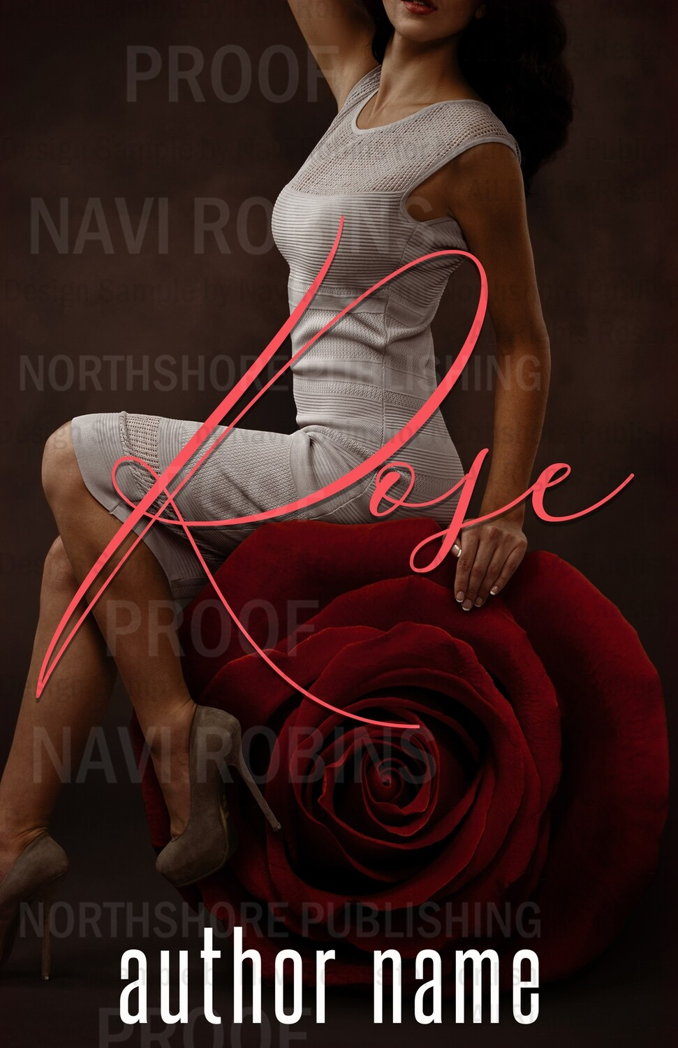 Rose pre-made eBook cover (Paperback version available)