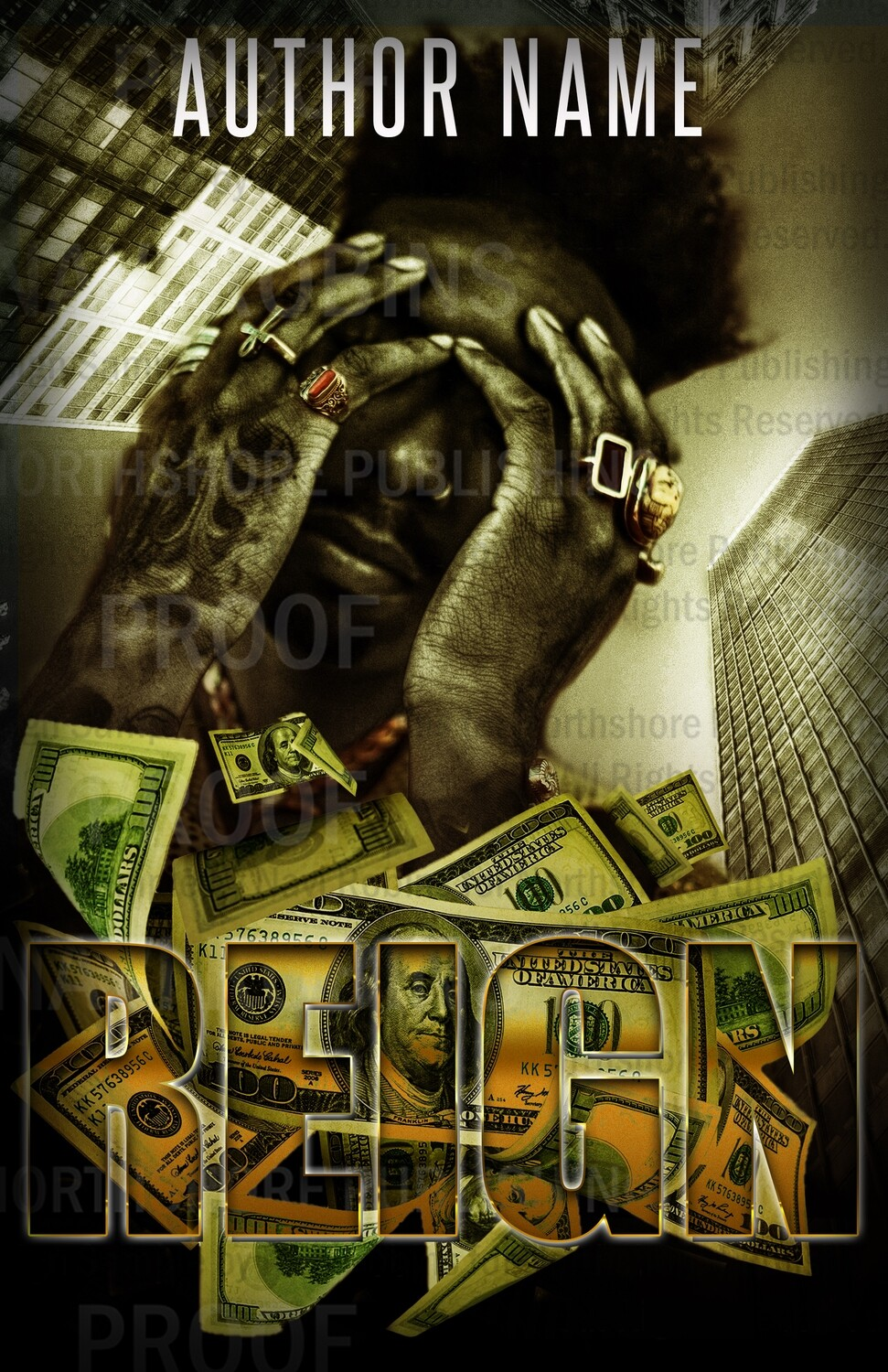 Reign pre-made Ebook cover (Paperback version available)