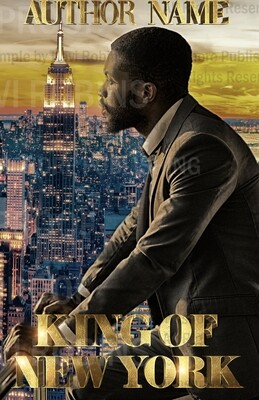 King of New York pre-made eBook cover (Paperback version available)
