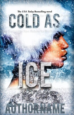Cold As Ice Ebook Pre-made book cover (Paperback available)
