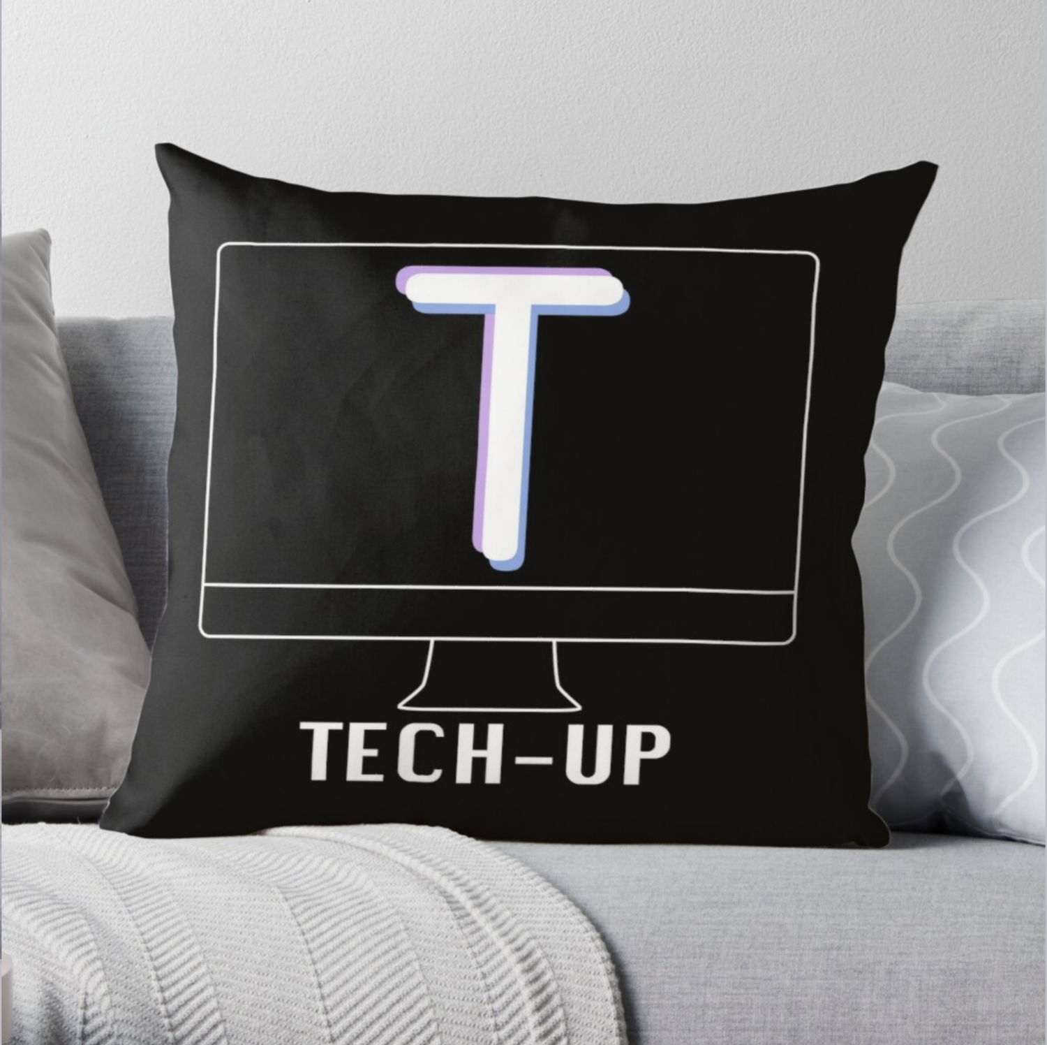 Tech-Up Pillow Case