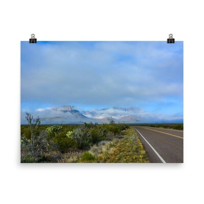 Big Bend National Park Photo Print