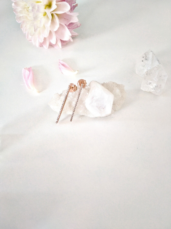 Meridien Line Earrings