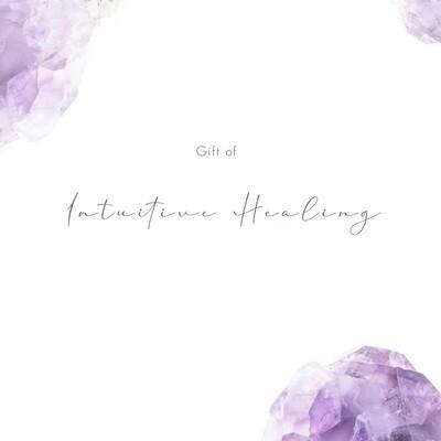 Intuitive Healing Gift Voucher