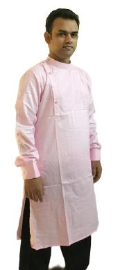 Cotton Kurta (Pink)