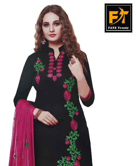Floral Printed Salwar Suit (Unstitched)