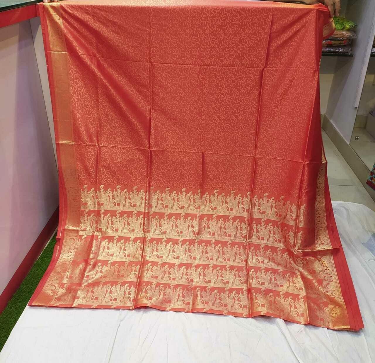 FANZ Boutique Woman's Art Silk Banarasi Saree
