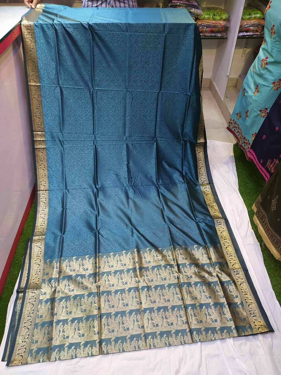 FANZ Boutique Woman's Art Silk Banarasi Saree