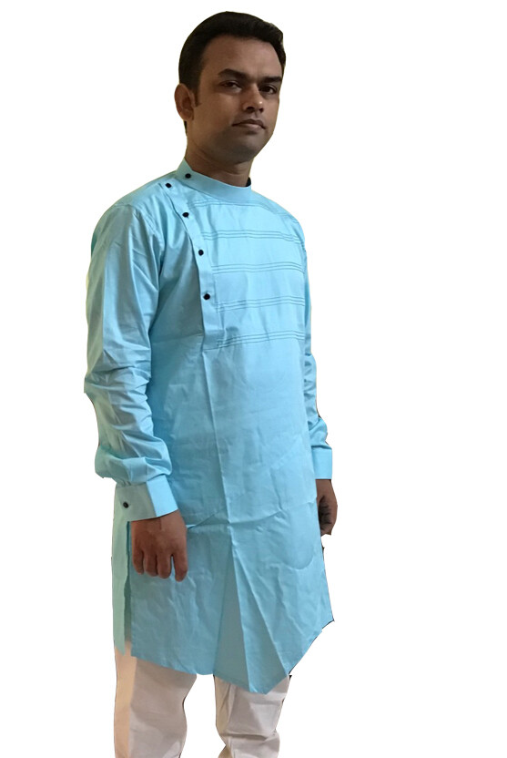 Cotton Kurta (Yellow)