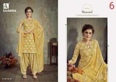Alok Suits - Saabira Patiyala Collection