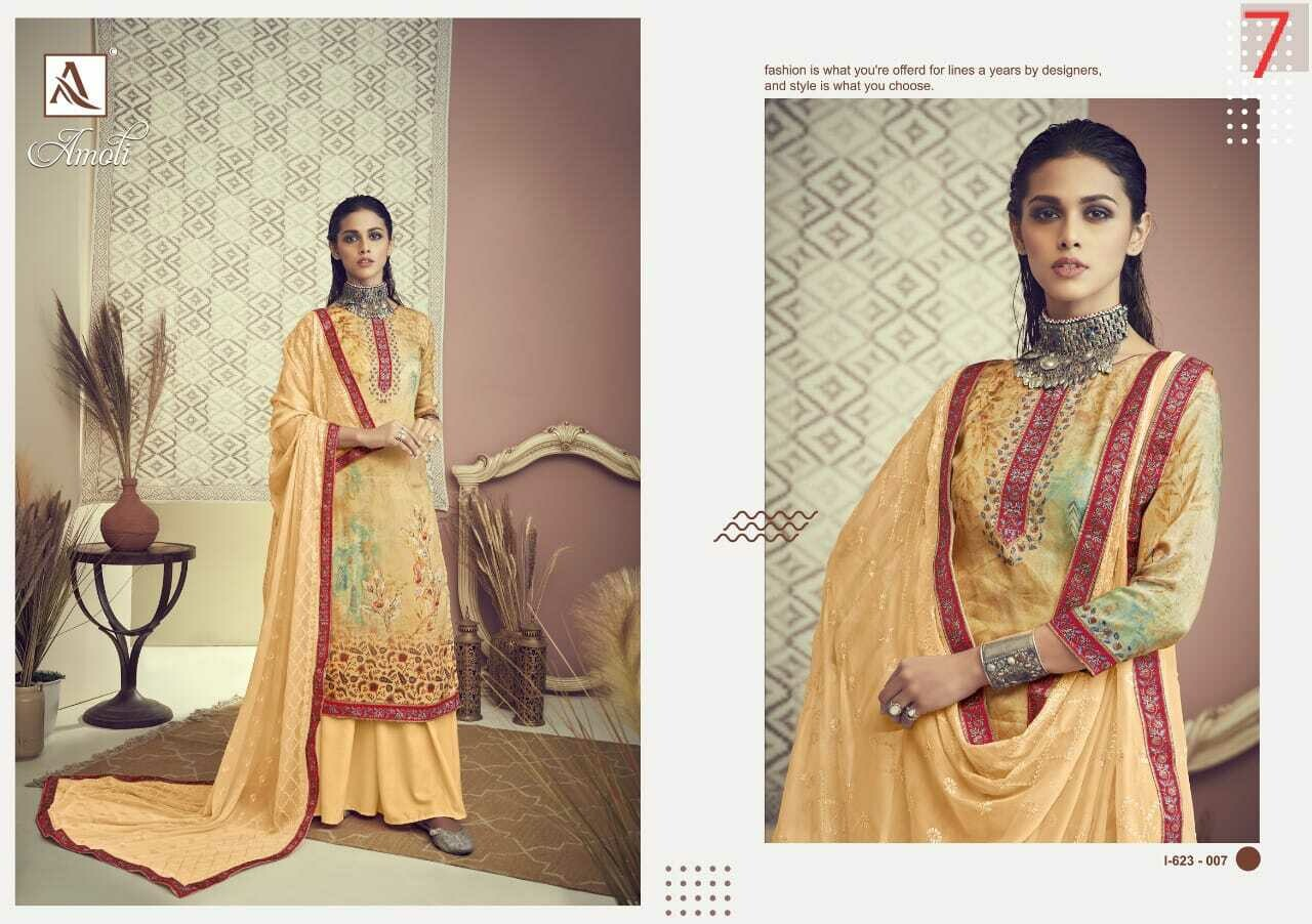 "​""ALOK SUIT"" - AMOLI – Digital Print Collection"