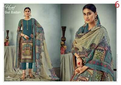 Gul Badan - Pure Cambric Cotton Digital Style Pakistani Print