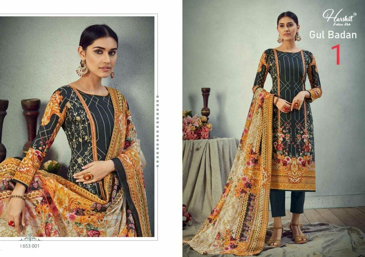 Gul Badan - Pure Cambric Cotton Digital Style Pakistani Print