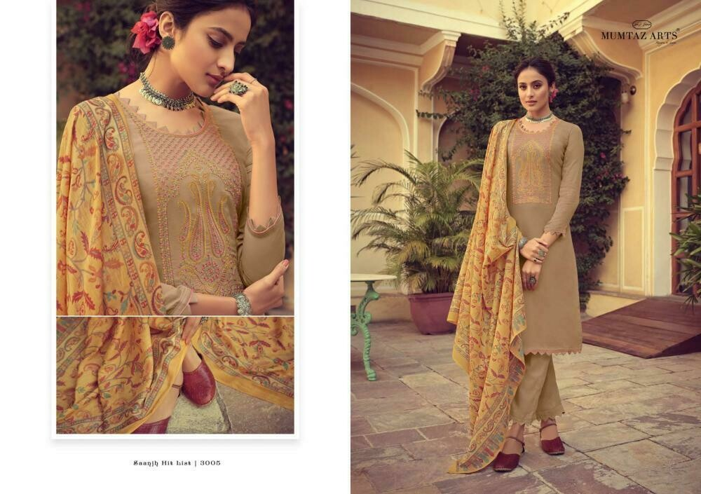 Mumtaz Arts - SAANJH HIT LIST – COTTON COLLECTION