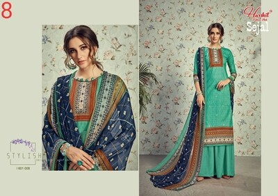 Harshit Fashion Hub By Alok Suit-Sejal Lawn Collection