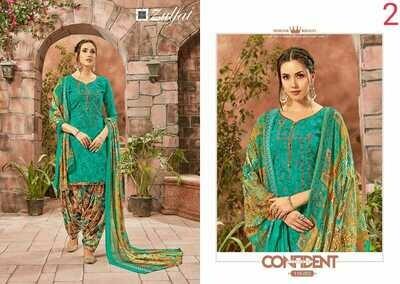 Zulfat Designer Suits Catalog Patiyala Bebes