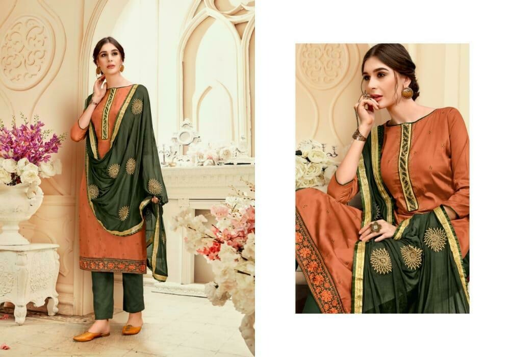 Levisha brand Urvashi Jaam satin Heavy