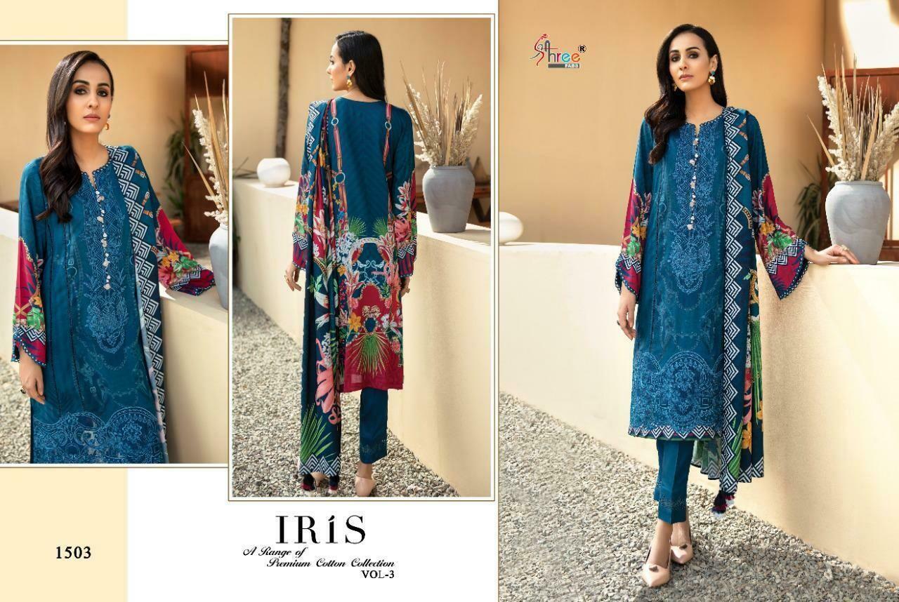 shree fab iris vol 3 pure jam cotton wholesale