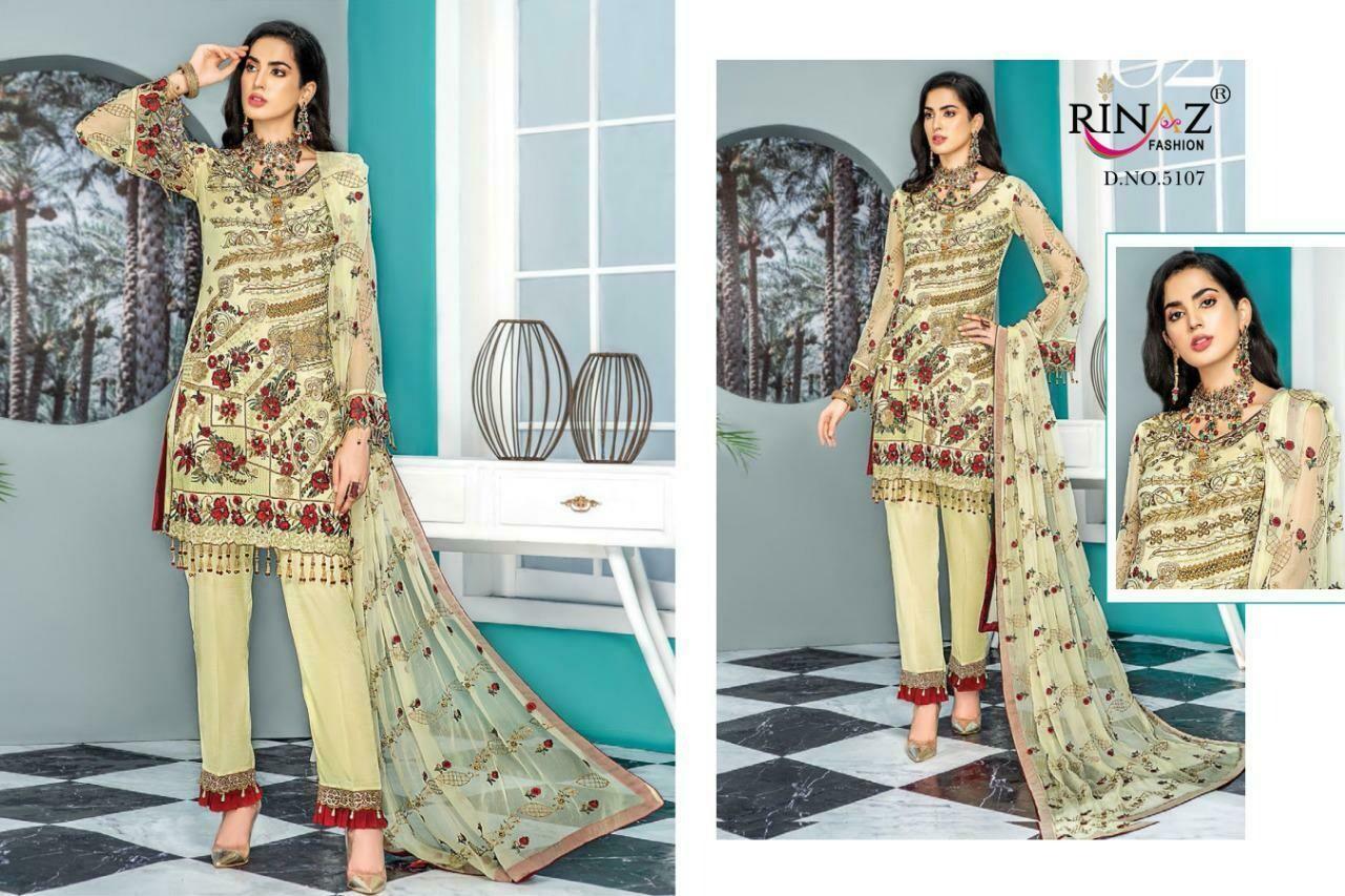Rinaz Fashion Maryam Gold Vol-7