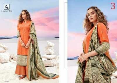 Alok suit Mughal Era
