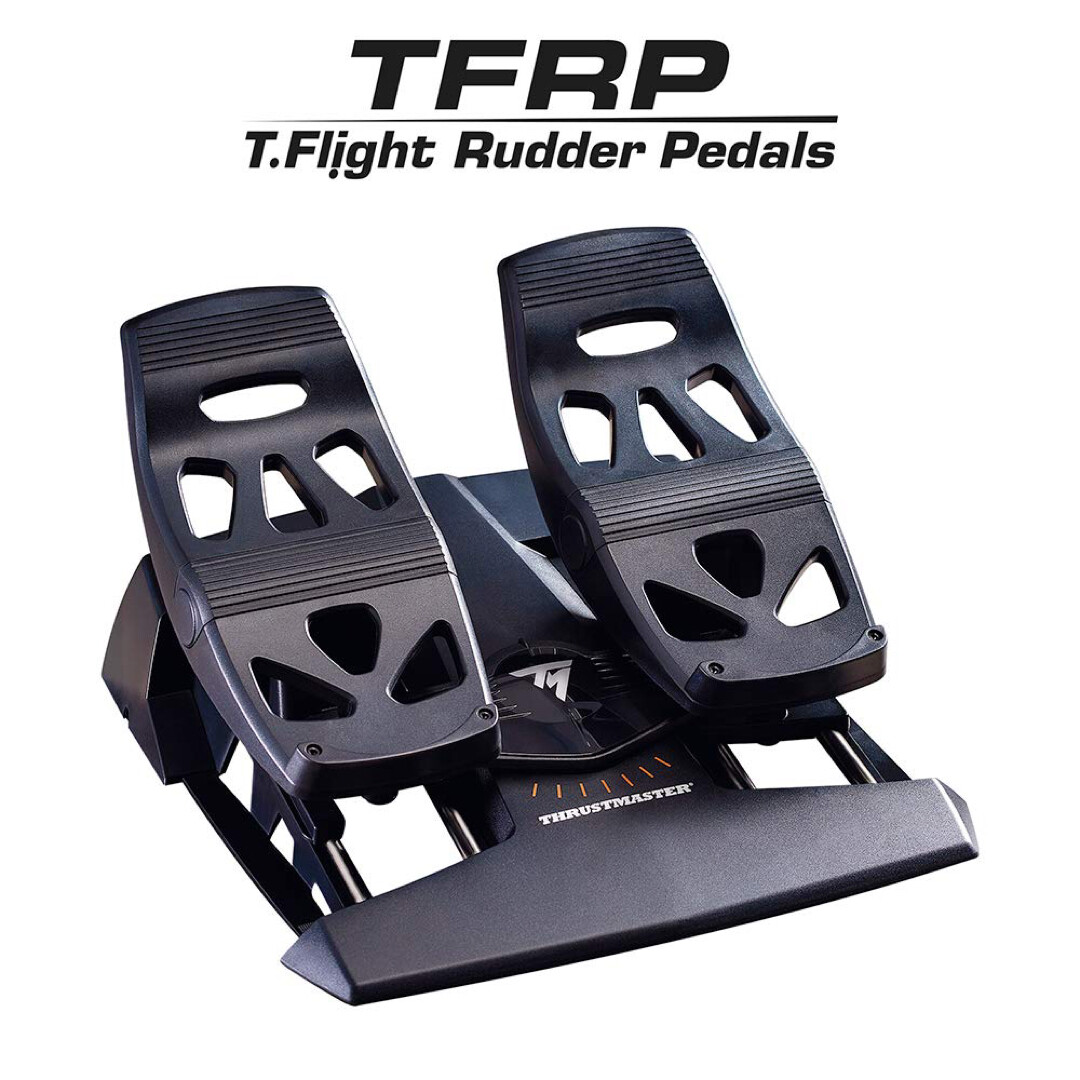 T. Flight Rudder Pedals (2nd Hand)