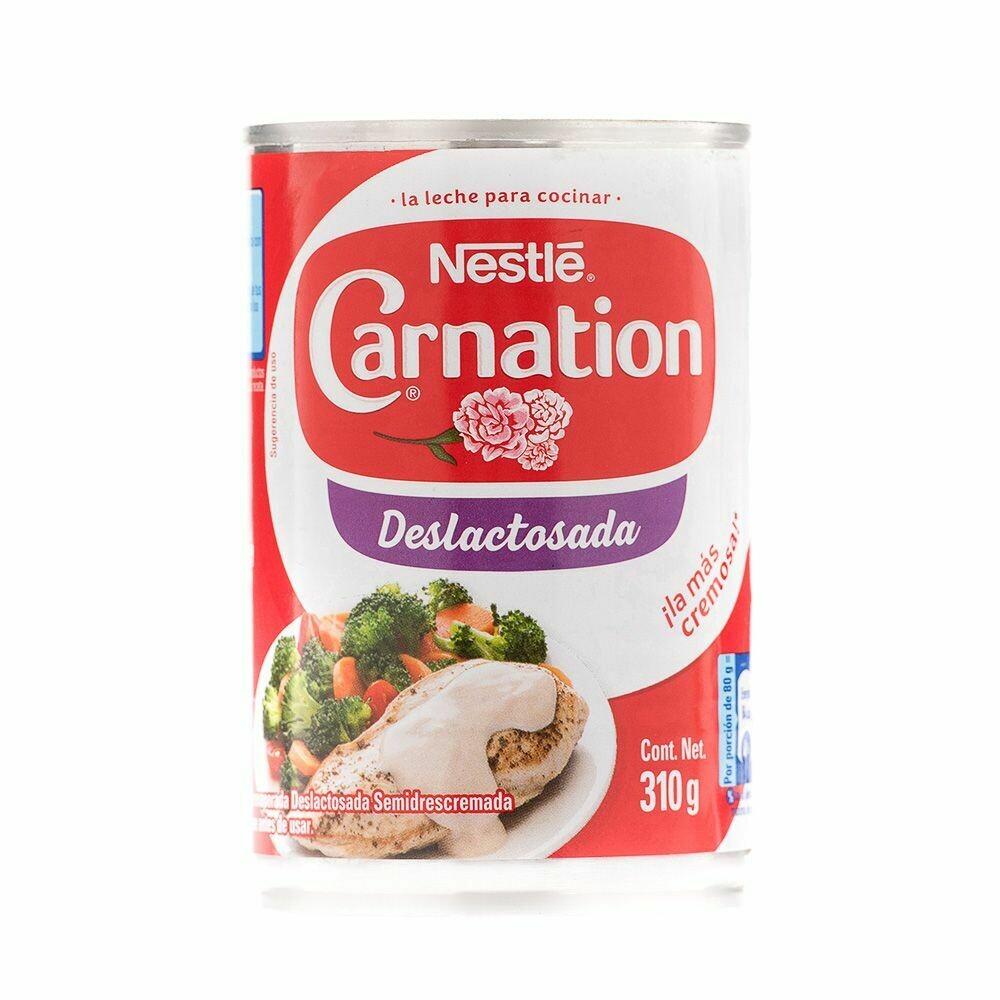Leche evaporada Carnation sin lactosa