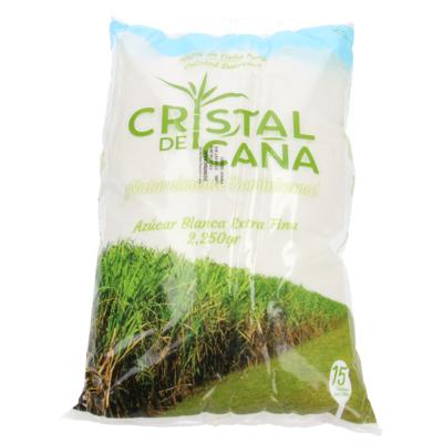 Azúcar Refina Cristal De Caña 2250 G, 4.8 LB