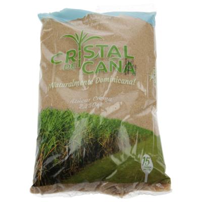Azúcar Crema Cristal De Caña 2250 G, 4.80 LB