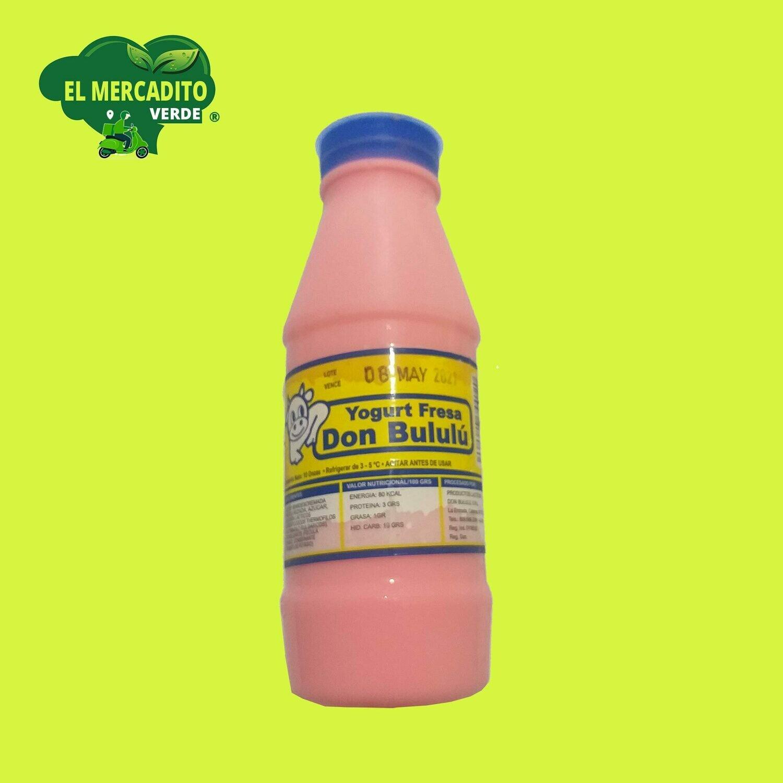 Yogurt Don Bululú fresa 10 onzas