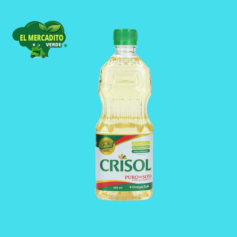 Aceite Crisol Soya 16 Oz