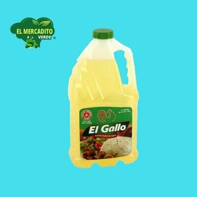 Aceite El Gallo Soya 64 Oz.