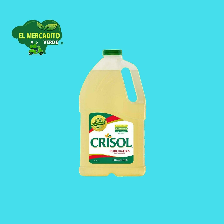 Aceite puro de soya CRISOL 1.89 Litros
