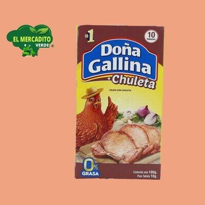 Caldo De Chuleta Doña Gallina 10 Uds.