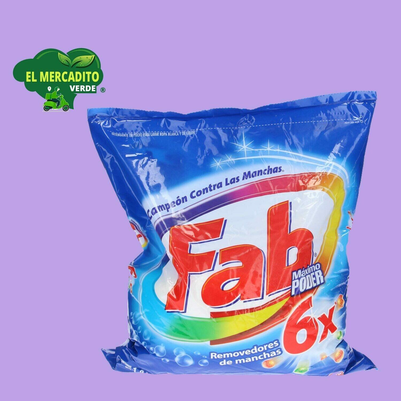 Detergente Fab Total 1.8 Kg