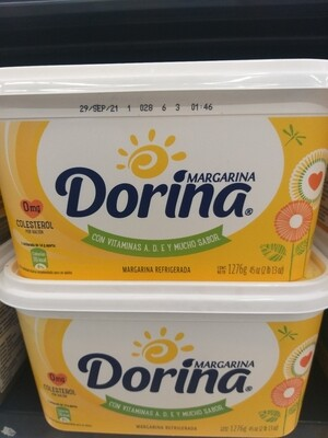 Margarina Dorina 1,276 g 3 LB
