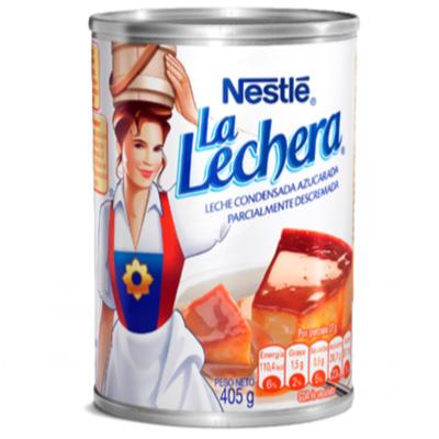 Leche Condensada La Lechera Lata 405 Gr.