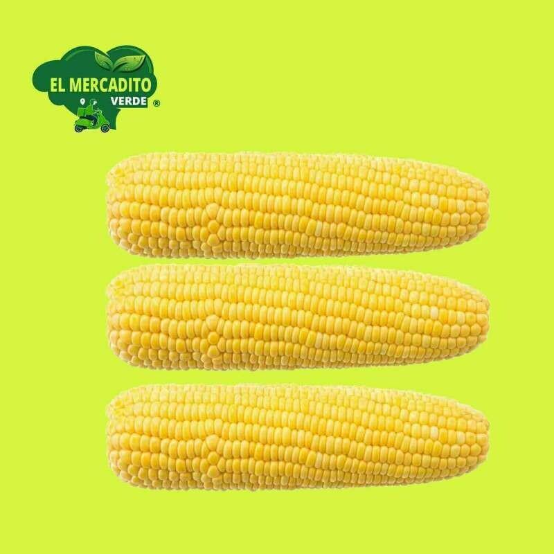 Maiz dulce (PAQ. 3 mazorcas)
